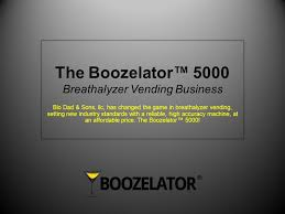 Breathalyzer Vending Machine Business Delectable The Boozelator™ 48 Breathalyzer Vending Business By Blo Dad Sons