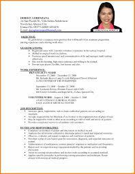 16 Cv Format For Nursing Waa Mood