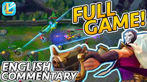 Wild Rift Jhin with INSANE Outplays! (Full Game, English Commentary) |  League of Legends: Wild Rift - YouTube