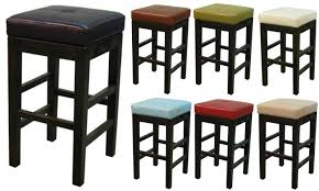 valencia square leather counter stool by new pacific direct item 108627