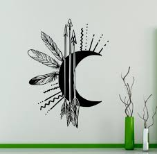 Small Picture Arrows Moon Creative Wall Mural Art Design Special Wall Sticker