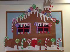 gingerbread house bulletin board ideas. Modren Board Gingerbread House Candy Christmas Bulletin Board To House Bulletin Board Ideas