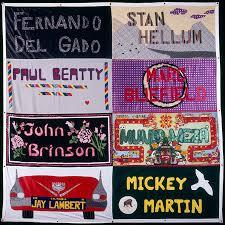 Against The Odds:The AIDS Memorial Quilt & AIDS Memorial Quilt Panel for: Fernando Del Gado; Stan Hellum; Paul Beatty; Adamdwight.com