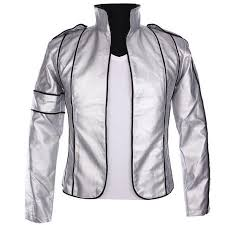 mj heal the world silver leather jacket memory of michael jackson anti war