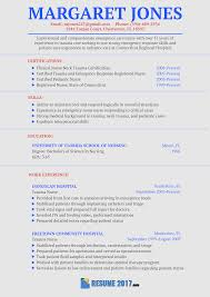 This Flawless Nurse Resume Sample 2018 Will Show You How To Make