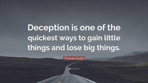 Deception Quotes (Page 1) - Line.17QQ.com