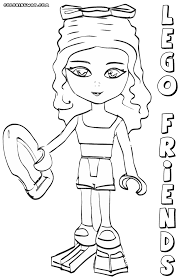 Lego Friends Coloring Pages To Print Az Coloring Pages Lego Friends