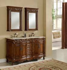 Rustic Bathroom Vanities And Sinks Rustic Bathroom Double Vanity