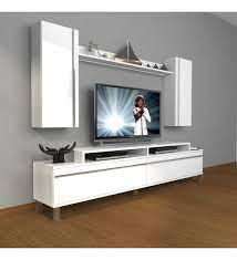 Decoraktiv Ekoflex 7 Mdf Krom Ayaklı Tv Ünitesi Tv Sehpası