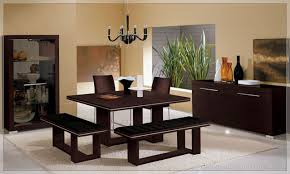 Kitchen Tables With Benches Dining Room Contemporary Sets With Benches Tesutesu