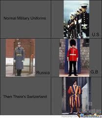Military Uniforms - Likealaugh.org by moste22 - Meme Center via Relatably.com