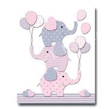 elephant nursery decor pink grey wall art for baby girl room play and artwork children s elephant baby mobile cot pink and grey elephants nursery decor  on baby elephant wall art for nursery with elephant baby mobile cot pink and grey elephants nursery decor