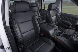 chevy tahoe leather seats interiors
