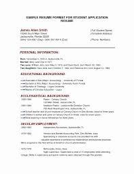 Resume Styles Cv Resume format Sample Elegant Sample Resume Styles Matchboard 58