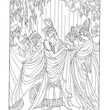Coloring Pages Fairy Tale Coloring Book Tales Pages Inspirational