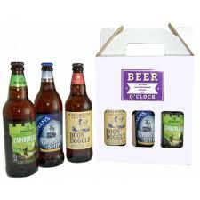personalised beer o clock 3 beers gift