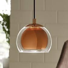 breakfast bar lights kitchen island lighting dusk single pendant eglo rocamar copper and glass large chandelier