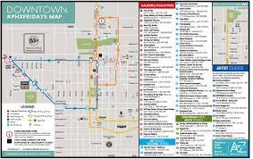 Phoenix Light Rail Map 2019 First Fridays Artlink Inc The Home For Phoenix First