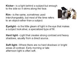 type of lighting. Types Of Lighting In Film Type T