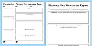 Newspaper Article Template Worksheets Esl Newspaper Articles