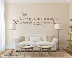 Sticker Mural Kit Citation Bonheur