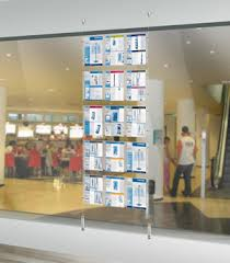 Window Display Stands Display Stands For Travel Agencies By Geprom Versatility And 50