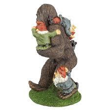 cheap garden gnomes. Schlepping The Garden Gnomes Bigfoot Statue Cheap