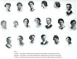 1917 Fruitland High School Class List