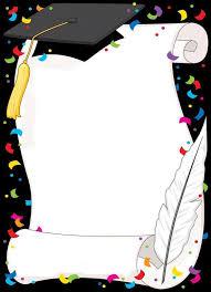 Invitaciones De Graduacion Para Imprimir Bordes Bonitos Para Tarjeta De Grado Wallpapers Real