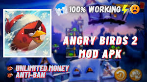 Angry Birds 2 MOD APK | Unlimited MONEY