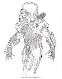 Small Picture Alien Predator Coloring Pages Elioleracom