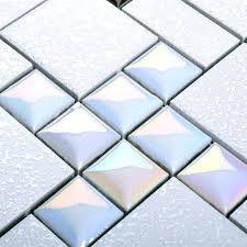 mosaic bathroom tiles porcelain mosaic floor tile grey square iridescent tile kitchen bathroom mirror wall