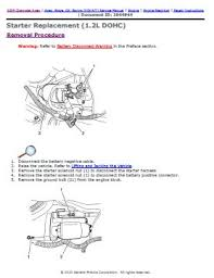 chevrolet aveo 2007 2010 factory service repair manual pdf