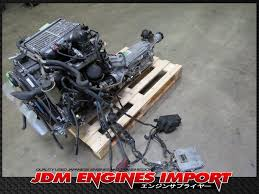 Toyota LandCruiser 4Runner 1KZ-TE Turbo Diesel Engine RWD Auto Trans ...