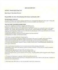 Housekeeping Supervisor Resume Template Inspiration Housekeeping Supervisor Resume Template Housekeeper Cv Uk