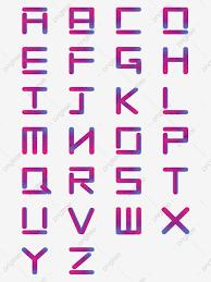 ไล่ระดับสีตัวอักษรภาษาอังกฤษ 26 ตัวสำหรับการใช้งานเชิงพาณิชย์, จดหมาย,  การเปลี่ยนแปลงอย่างค่อยเป็นค่อยไป, สีม่วงภาพ PNG และ เวกเตอร์  สำหรับการดาวน์โหลดฟรี