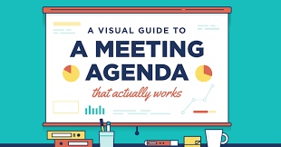 Business Agenda A Visual Guide To A Meeting Agenda That Actually Works The