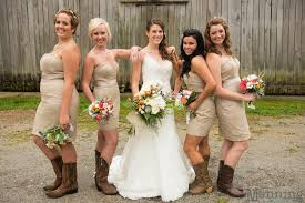 28 Best Boots Nu0027 Weddings Images On Pinterest  Amber Boots And Country Western Style Bridesmaid Dresses