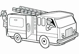 Free Fire Truck Coloring Pages Printable Coloring Pages Online