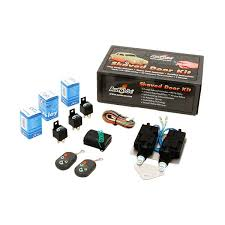 autoloc bolt on shave door kit with alarm and remotes
