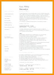 Market Research Analyst Resume Sample Data Analyst Resume Entry ...