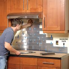 Backsplash Ideas, Metal Stove Backsplash Home Depot Backsplash Simple  Interesting For Home: awesome metal