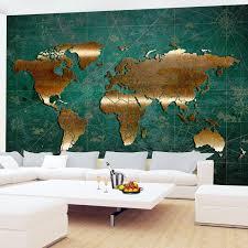 Fototapete Weltkarte Vlies Wand Tapete Wohnzimmer Schlafzimmer Büro