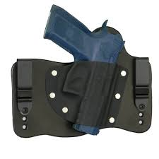 fo holsters leather kydex iwb hybrid holster cz 75 p 07 black right tuckable