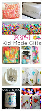 do your children love to make and give homemade presents if so you re going to love this i ve rounded up a collection of 40 fabulous gifts kids can make