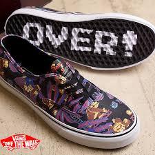 vans x nintendo. vans x nintendo authentic vans mens womens sneakers authentic ( nintendo) donkeykong/black d