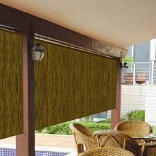 coolaroo exterior shades solar exterior sun shade outdoor roll up blinds for patio