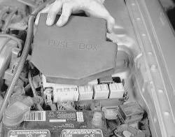where is the interior fuse box located in mazda 3 fixya 1 remove the fuse box cover located in the engine compartment to access the main fuses for the vehicle