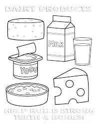 Unhealthy Food Coloring Pages Of Healthy Foods Home Improvement C