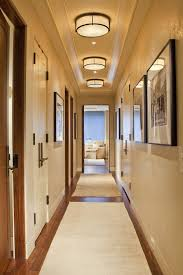 contemporary hallway lighting. Denver Hallway Light Fixtures With Nickel Flush- Hall Contemporary And Neutral Colors Baseboards Lighting T